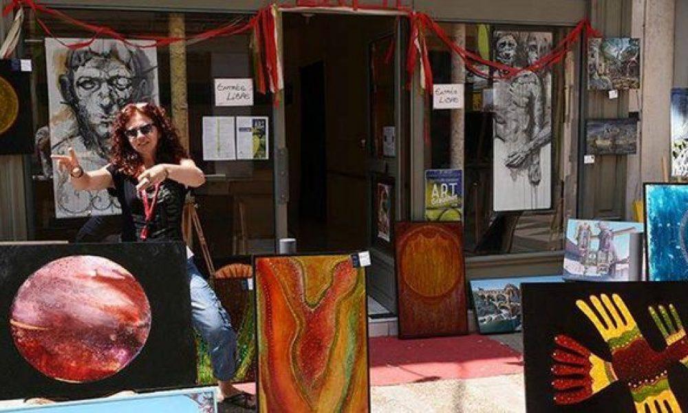 Quelques boutiques prêtes à accueillir des commerçants demeurant en centre-ville./ Photo DDM