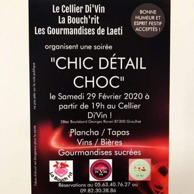 Soirée «Chic Détail Choc»