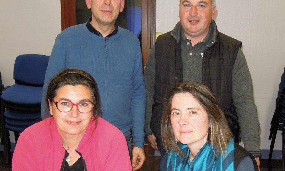 Isabelle Lechevalier, Nadège Roussel, Pascal Roussel et Christophe Fraïz. / DDM.G.D.