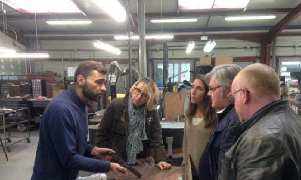l'opération a été une occasion unique pour tout découvrir l'ensemble de la filière cuir de Graulhet.