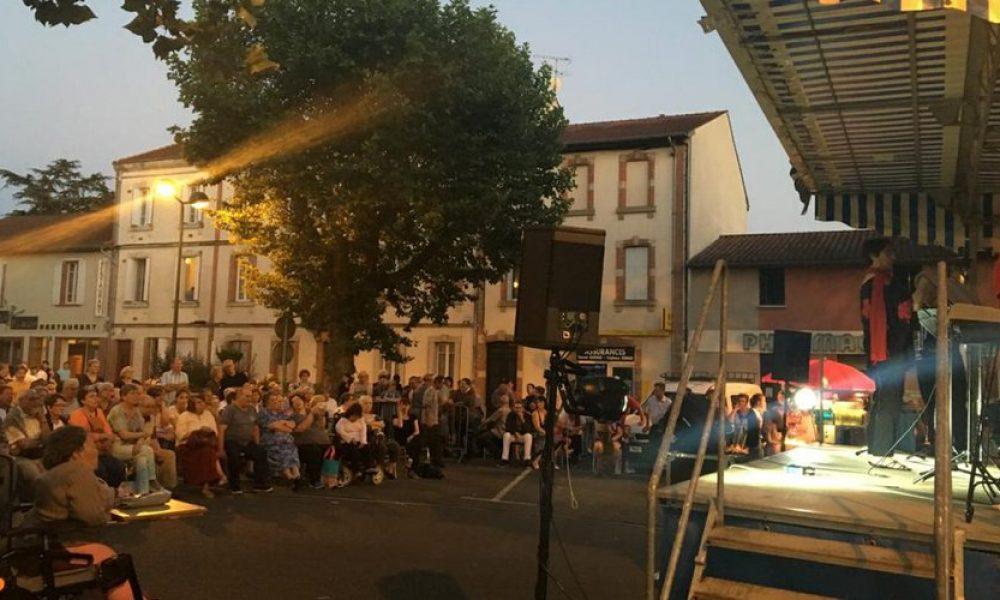 La place Bosquet, scène officielle de la fête de la Musique./ Photo DDM