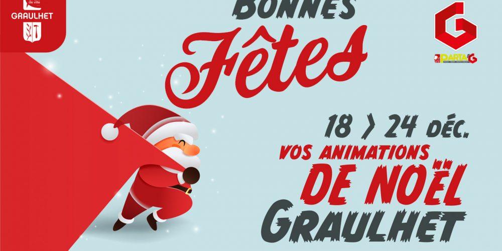 Modification des animations de Noël à Graulhet
