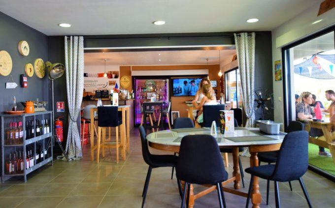 Salle intérieure Chez Rio's