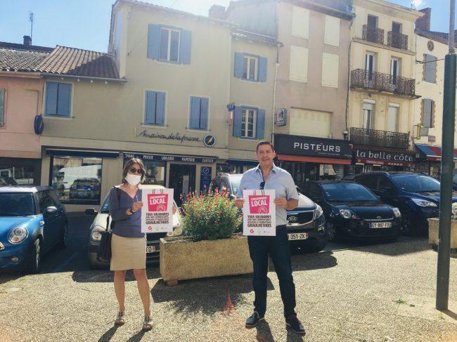 «Consommons local» : la ville solidaire des commerçants (La Dépêche)