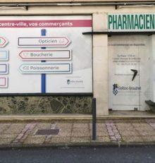 Une opération «vitrophanie» en cœur de ville (La Dépêche)