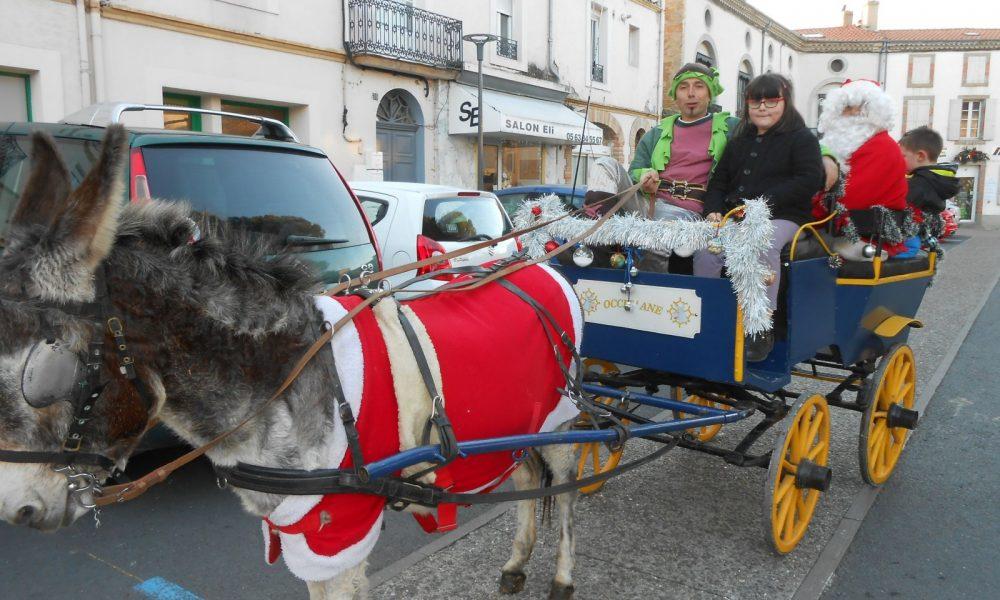 Le Père Noël sera-t-il en ville cette année ? Il est encore trop tôt pour le dire. DDM archives G.D.