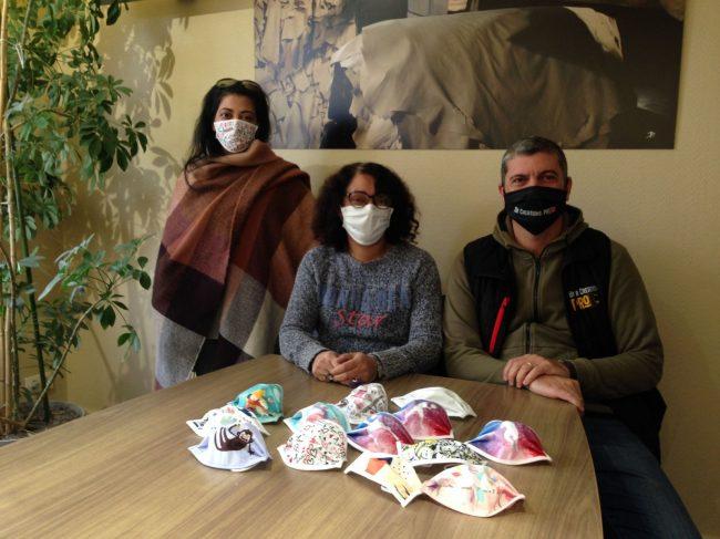 Graulhet : le masque, un accessoire de mode personnalisable (La Dépêche)