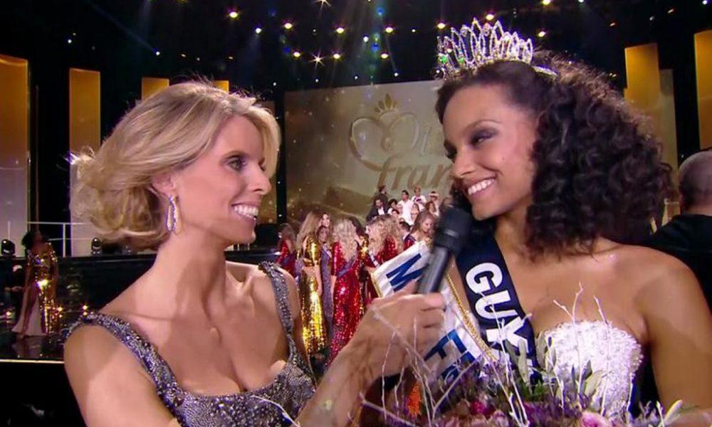 Miss France en visite de charme au centre Leclerc