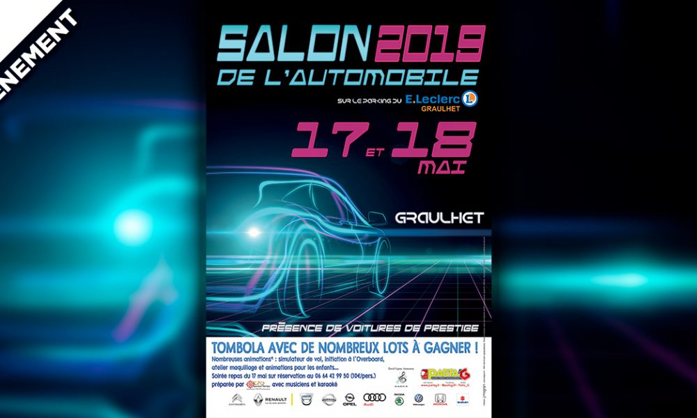 3e Salon de l'Automobile à Graulhet
