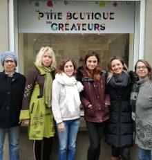 Ouverture de la boutique-école «La petit' boutique des créateurs» à Graulhet