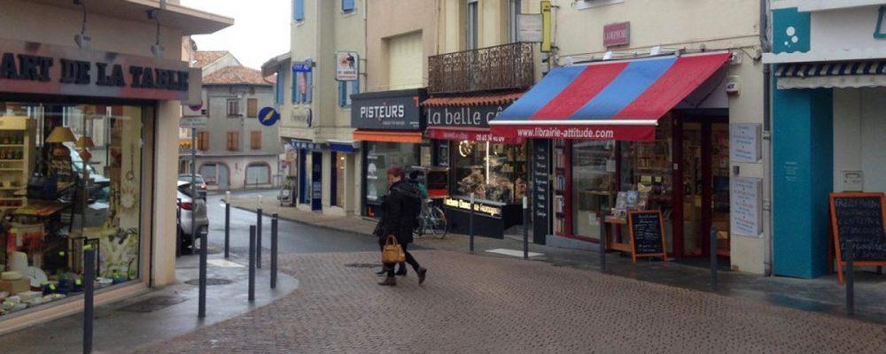 Des «coups de pouce» aux commerces du centre-ville (La Dépêche)