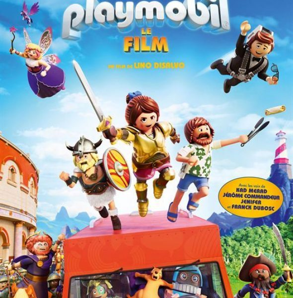 "Playmobil, le film (2D/3D)<span class=""badge-status"" style=""background:#0F9D11"">SORTIE NATIONALE</span>&nbsp;"