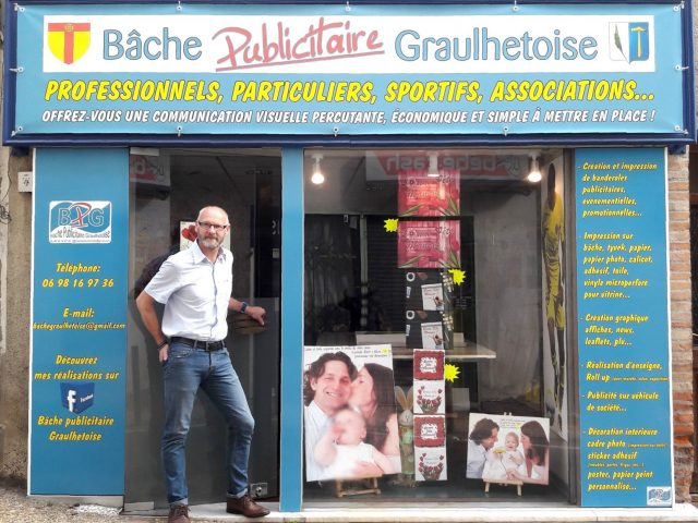 Bâche Publicitaire Graulhétoise