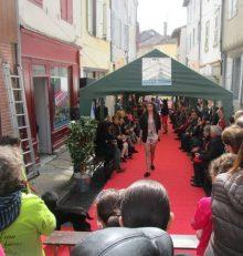 Deuxième tapis rouge pour le défilé de mode